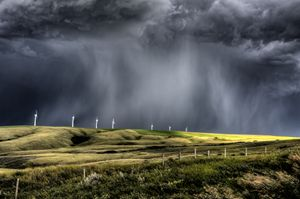 Storm Clouds Saskatchewan - Fine Art Photography