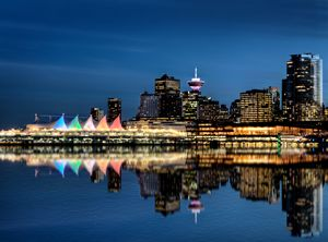 Vancouver Skyline Canada - Fine Art Photography