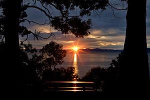 Nelson New Zealand sunrise