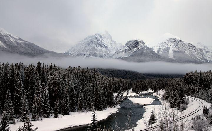 Morants Curve Alberta - Fine Art Photography