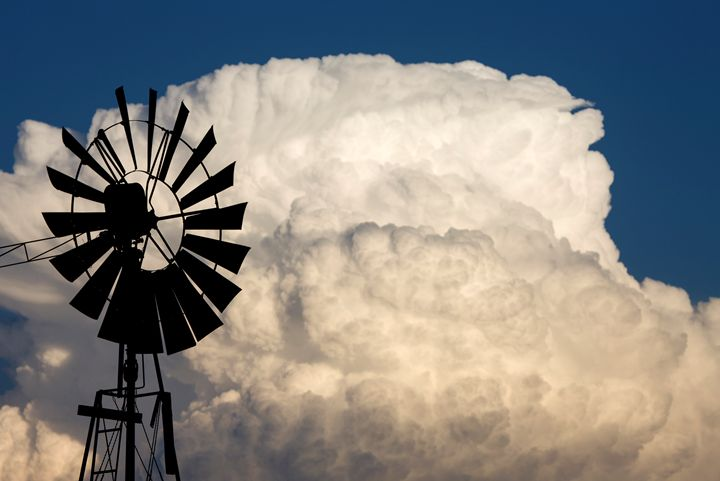 Old Fashioned Wind Mill - Fine Art Photography