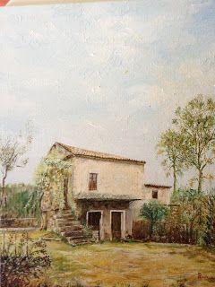 Old farm cottage' - Landskape