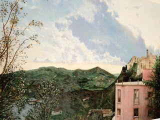 The Pink House - Landskape