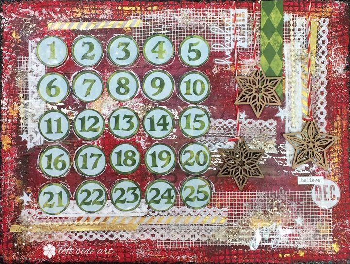 Advent Calendar - Christine Newell • Left Side Art