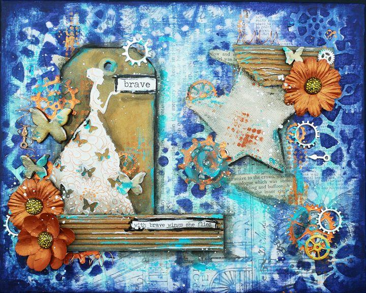 Brave - Christine Newell • Left Side Art