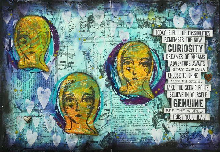 Curiosity - Christine Newell • Left Side Art