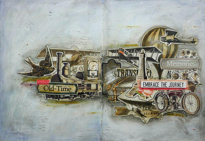 Embrace The Journey - Christine Newell • Left Side Art