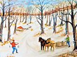 Original Farm Painting
