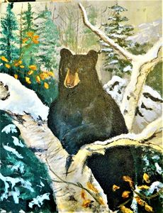 BLACK BEAR - jimdeckersartwork