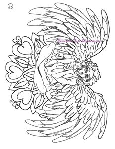 Page 4, Coloring Book