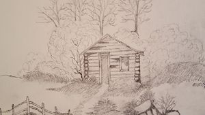 old Cabin in the wood