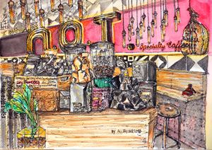 N.O.T specialty caffee in hong kong