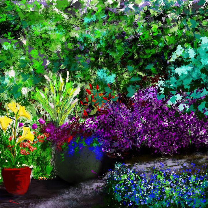Garden Landscape - Karen Harding Artist
