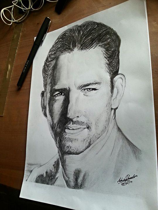 Paul Walker - Pencil drawings