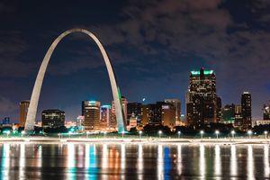 2016 St. Louis Night Skyline