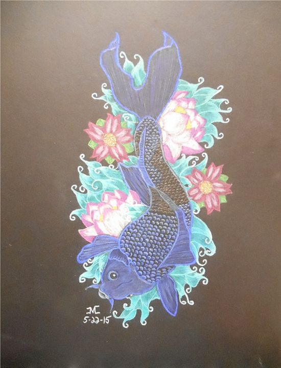 Blue koi - JMC Arts & Crafts