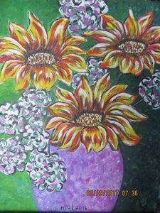 Still Life ,Flowers in a vase
