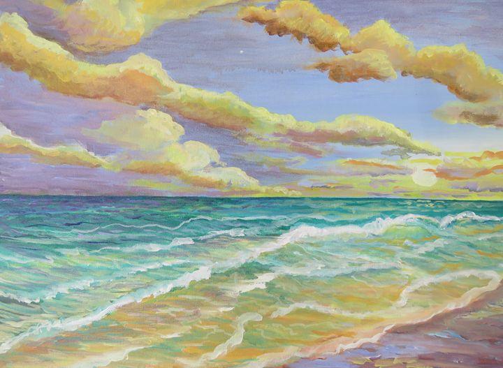 colorful bay - verna dodge