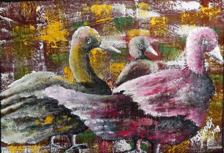 The watre Ducklin - Destreet Art Gallery Africa