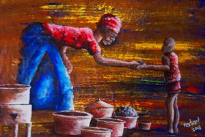 LUNCH TIME - Destreet Art Gallery Africa