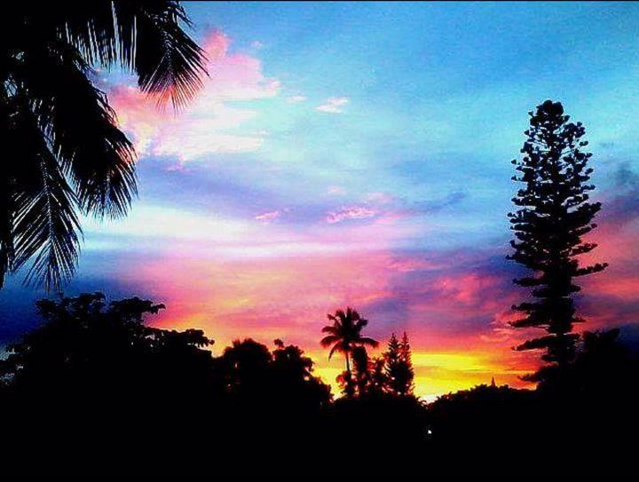 Sunset in paradise - Eric Steele