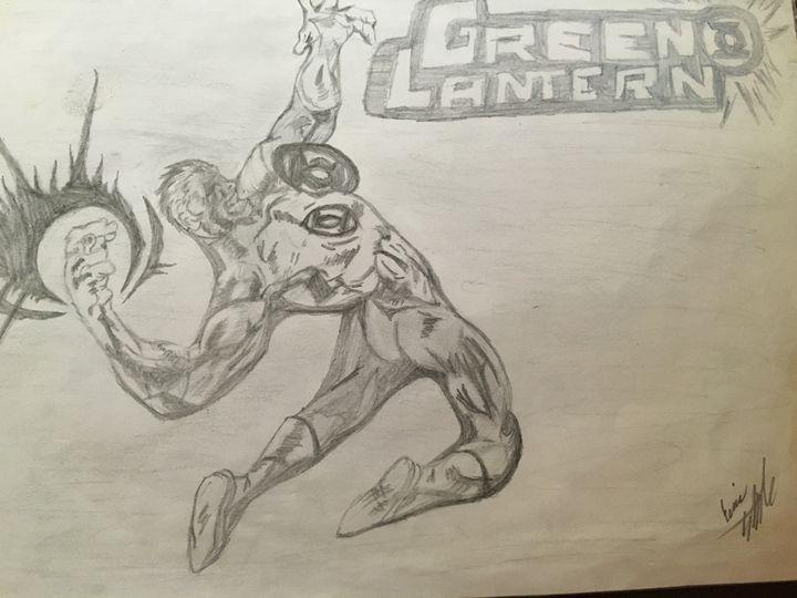 Green lantern - Eric Steele