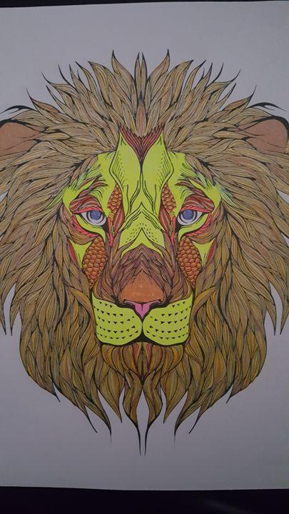 Lion - Joshua Osswald