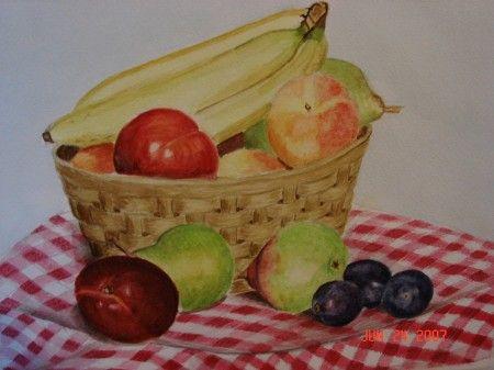 Basket of Fruit - Michele L. Squibb