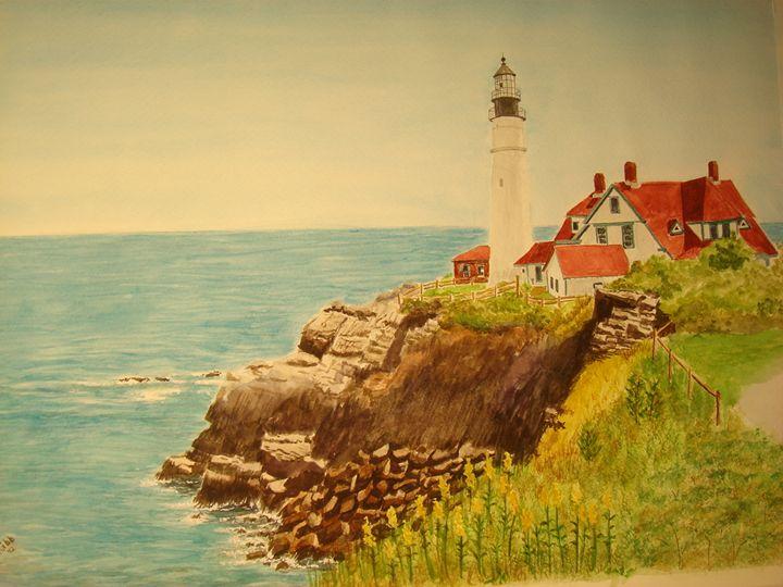 Portland Head Light - Michele L. Squibb