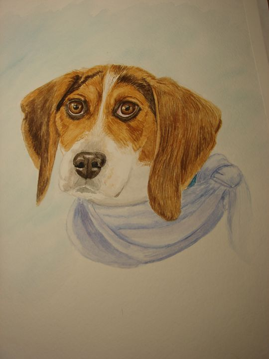 BeeBee Shelter Dog - Michele L. Squibb