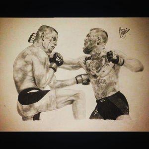 UFC Conor vs Nate