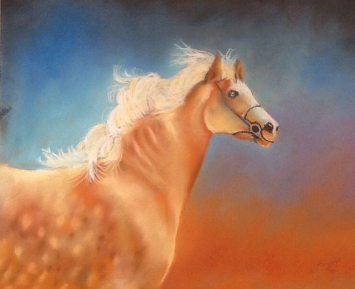 Wild Irish Horse Run Free - Lynsey Irish Art