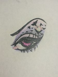 Witch Eye (colored pencil)
