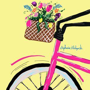 My pink bike