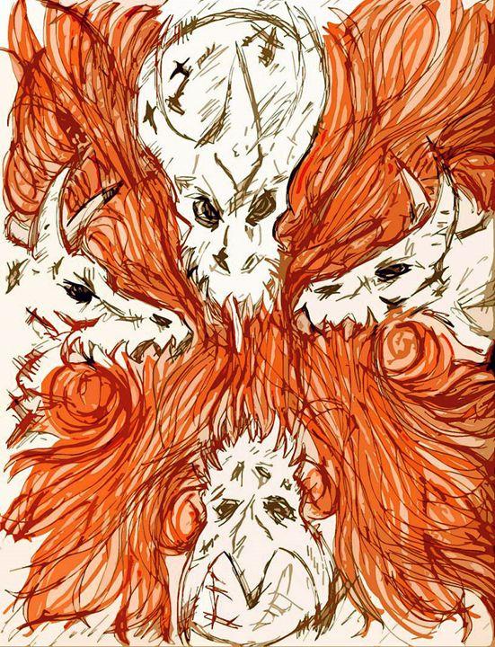 Orange - Wolf Crimson