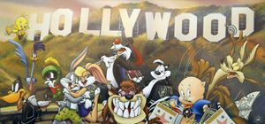 TOONS GO TO HOLLYWOOD!
