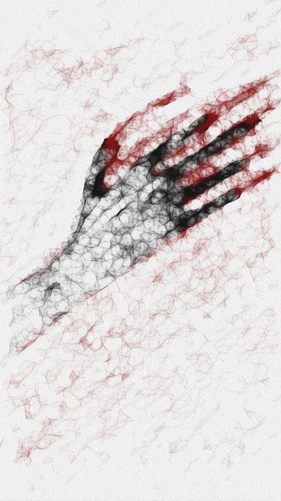 The Suffering Hand - SCROGART
