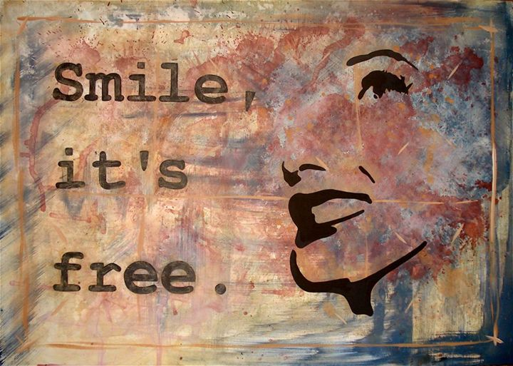 Smile, It's Free - Emily Hayes