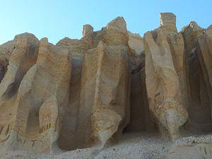 Sand Cliffs