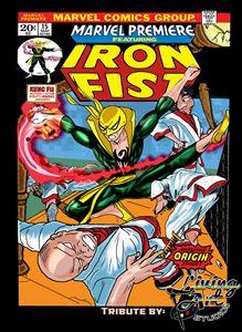 Iron Fist Origin Cover: Tribute