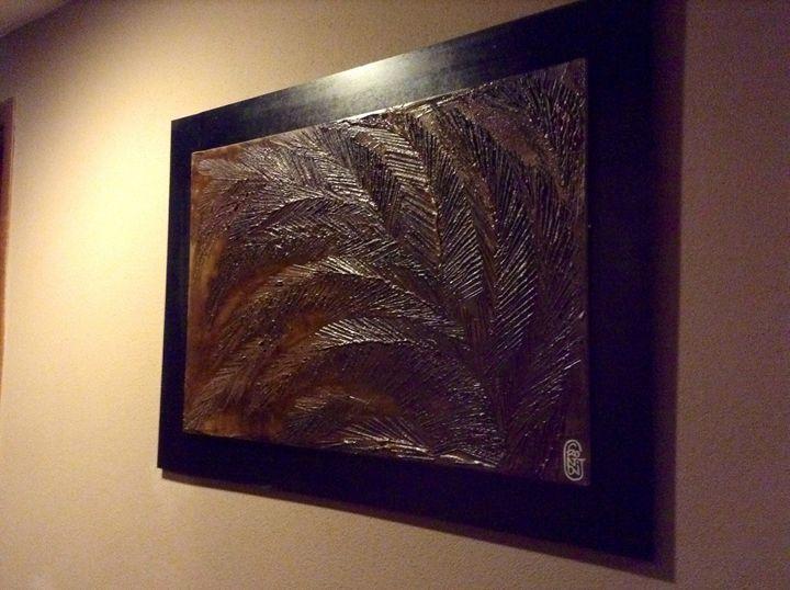Leaves Fossil Style - Giuseppe Frontoni