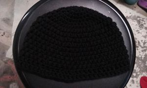 Solid Color Crochet Beanie