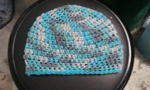 Custom Color/Pattern Crochet Beanie