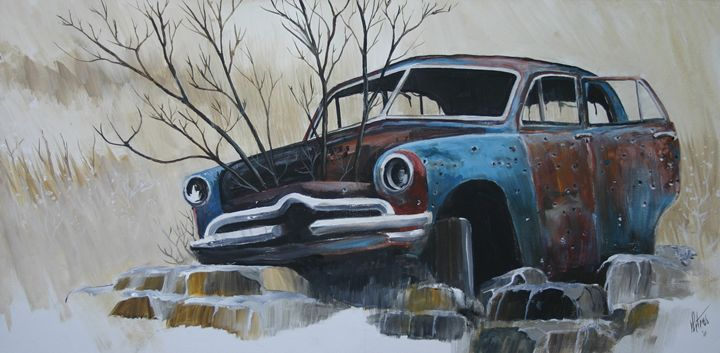Blue Bullet - Art of the American West