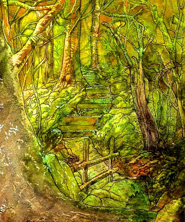 In The Heart Of The Forest - Emma Childs Art