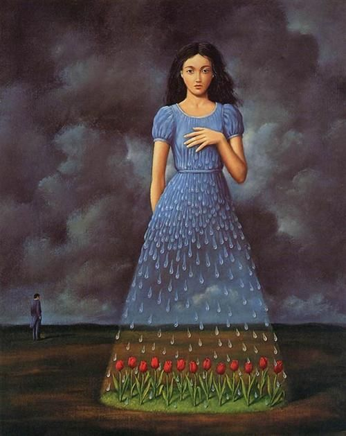 The rose bed & Girl - Newyorkarts55