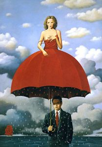 Umbrella girl - Rafal oblinskie
