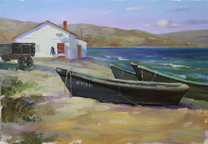 Boat - Natalia Lazareva