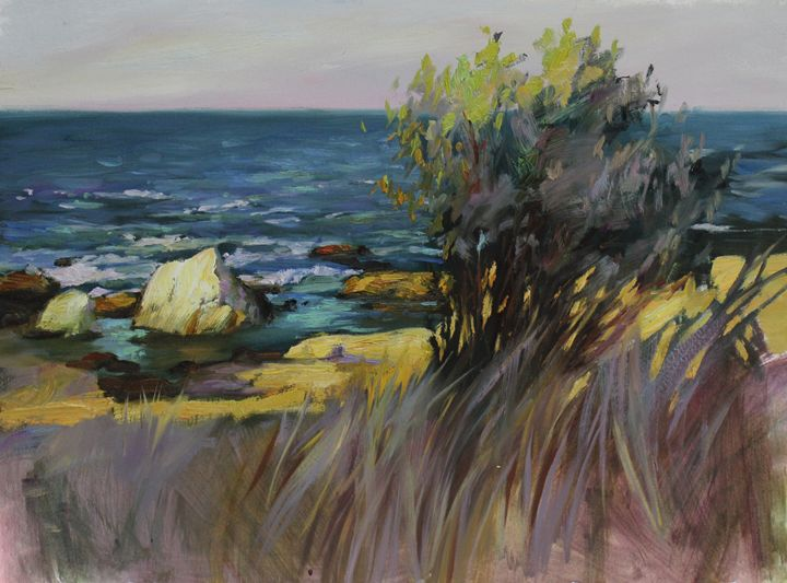 Evening grass - Natalia Lazareva