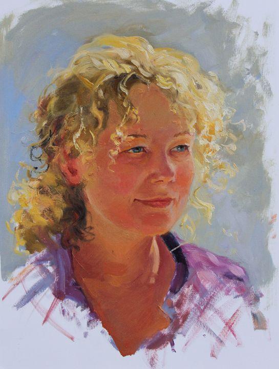 Portrait of a woman - Natalia Lazareva